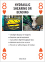 Hydraulic Shearing or Bending
